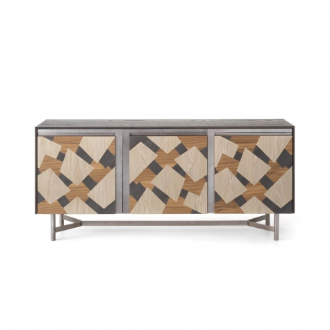 CLIK  three door sideboard with inlay