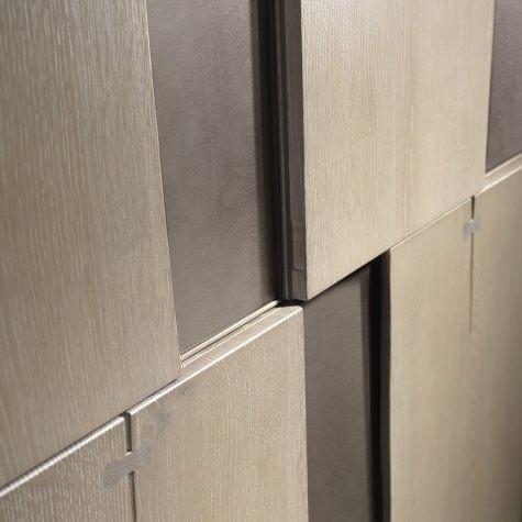 Cabinet in solid walnut or oak