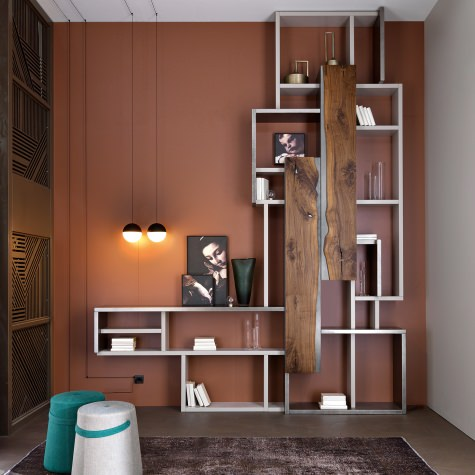 Open wall unit