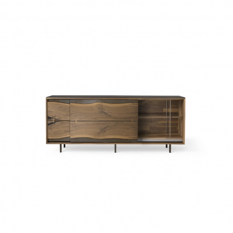 Sideboard in solid walnut