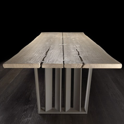 Trapezio metal legs for Vero table