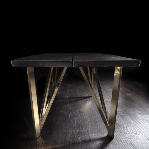 Geometrica metal legs for Vero table