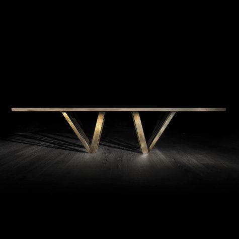 Prisma metal legs for Vero table